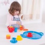 Coffee Service - Tea Set - Lyon 18pces - Gowi Toys