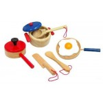 Cooking Set - Wooden - Fun Factory