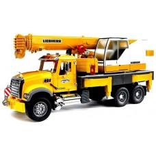 Crane Truck Libherr Scania - Bruder 3570