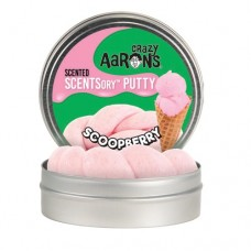 "Crazy Aaron's Scented SCENTsory Putty - 2.5"" Tin - Scoopberry"