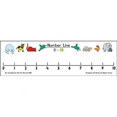 Desk Strip Number Line 1 - 10