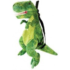 Dinosaur Backpack TRex Green
