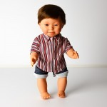 Doll - Down Syndrome Boy Brunette