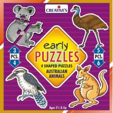 Early Puzzles Creatives - Australian Animals
