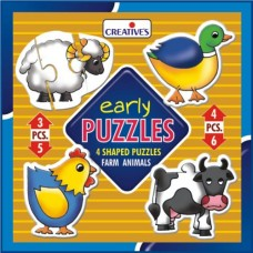 Early Puzzles Creatives - Farm Animals