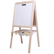 Easel 4 in 1 - Boss Tikk Tokk + BONUS PAPER & 2 x Stubby Brushes