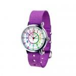 Watch - EasyRead Time Teacher - Rainbow Face - Purple Strap