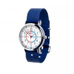 Watch - EasyRead Time Teacher - Red/Blue Face - Navy Blue Strap