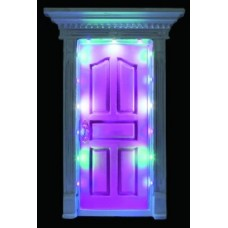 Fairy Door with LED Lights  Pink