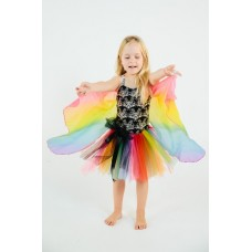 Rainbow Butterfly Wings - Fairy Girls