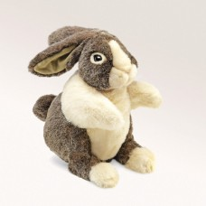 Folkmanis Hand Puppet - Dutch Rabbit