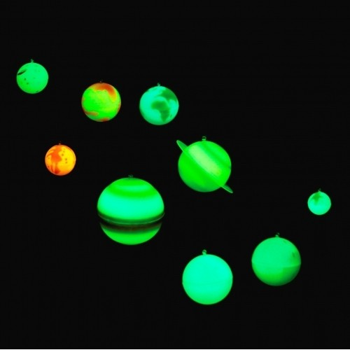 glow in the dark 3d planets from who what why