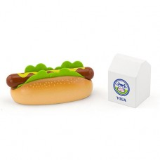 Hot Dog & Milk Role Play - Viga Toys