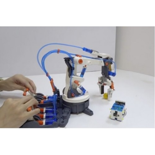 Small Hydraulic Robot Arm : Hydraulic robot arm kit from who what why