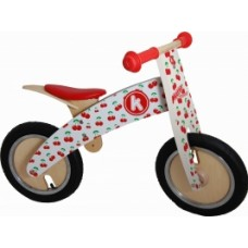 Kurve Balance Bike - Cherry - Kiddimoto