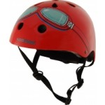 Helmet - Red Goggle - Kiddimoto