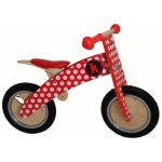 Kurve Balance Bike - Red Dotty - Kiddimoto