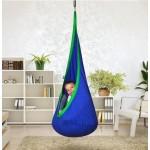 Hanging Nest Pod Swing Chair - Blue