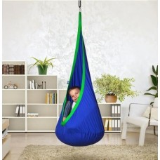Hanging Nest Pod Swing Chair - Blue