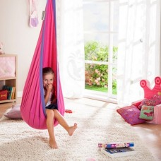 Hanging Nest Pod Swing Chair - Pink