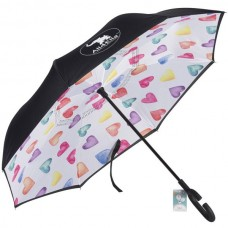 Umbrella Inside Out for Kids - Hearts