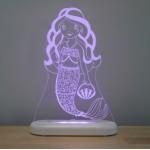 Nightlight LED USB - Mermaid