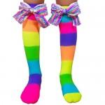 MadMia Socks - Rainbow Bows