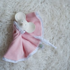 Teether Rubber Meiya with Comforter - Bonikka *