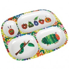 Very Hungry Caterpillar Melamine Divided Plate
