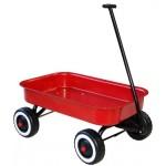 Metal Wagon Red