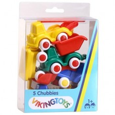 Trucks - Mini Chubbies Gift Box Construction - Viking Toys
