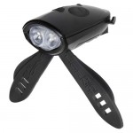 Mini Hornit - Bike/Scooter Light and Horn Black
