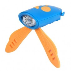 Mini Hornit - Bike/Scooter Light and Horn Blue/Yellow