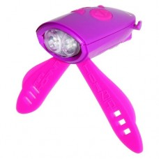 Mini Hornit - Bike/Scooter Light and Horn Pink/Purple