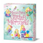 Mould & Paint Glitter Mermaids - 4M Craft Kit