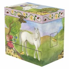 Music Jewellery Box Horse Fairy - Enchantmints