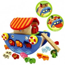 Noah's Ark 3 in 1 Wooden - I'M Toys