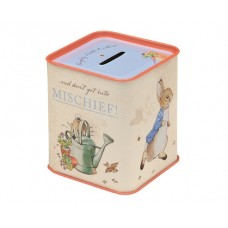Money Box Tin - Peter Rabbit