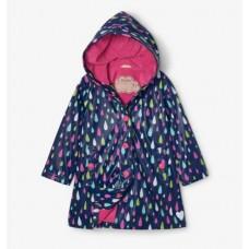 Raincoat Colour Changing - Raindrops - Hatley 30% OFF
