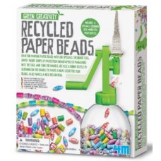 Recycled Paper Beads - Green Creativity 4M