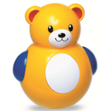 Roly Poly Teddy Bear - Tolo Toys