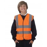 Safety Vest Orange - High Visability for Children