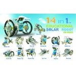 Solar Robot 14 in 1 Kit