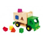 Garbage Truck Shape Sorter - Discoveroo