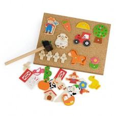 Tap Tap Set Farm - Viga Toys
