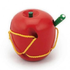 Threading/Lacing Apple - Viga Toys