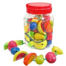 Threading - Wooden Fruit Beads - Fun Factory