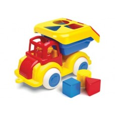 Truck with Shape Sorter - Viking Toys