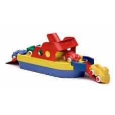 Boat Ferry with 2 Mini Cars & 2 Figures - Viking Toys