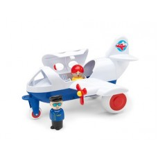 Plane with 2 People - Viking Toys